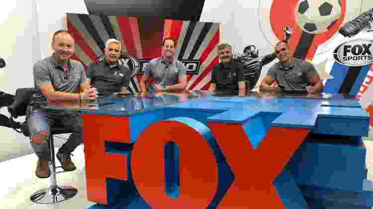 Equipe do canal FOX Sports que estará na Copa do Mundo da Rússia - Divulgação/FOX Sports - Divulgação/FOX Sports