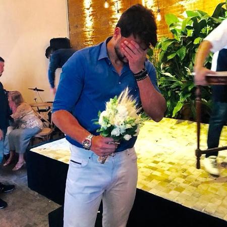 Marcelo Bimbi pede Nicole Bahls em casamento - Reprodução/Instagram/marcelobimbioficial