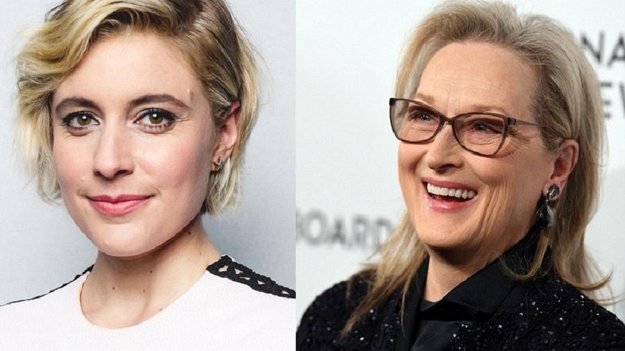 Greta Gerwig e Meryl Streep - Getty Images