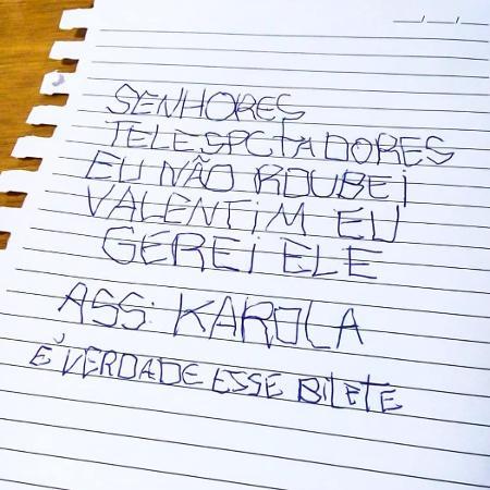 """Deborah Secco faz """"bilete"""" para defender Karola em """"Segundo Sol"""" - Reprodução/Instagram"""