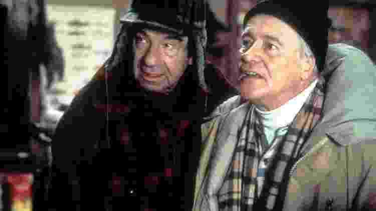 """Jack Lemmone Walter Matthau em cena de """"Dois Velhos Rabugentos"""" - Reprodução - Reprodução"""
