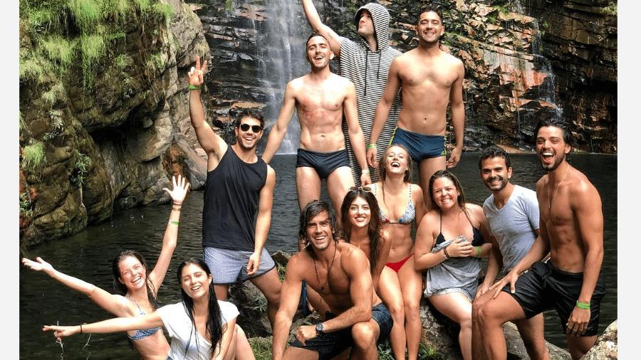 """Parte do elenco de """"Orgulho e Paixão"""" - Reprodução/Instagram"""