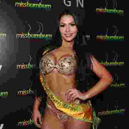 Ellen Santana, a vencedora do Miss Bumbum 2018 - Iwi Onodera/UOL - Iwi Onodera/UOL