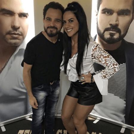 Graciele Lacerda tieta Luciano - Reprodução/Instagram