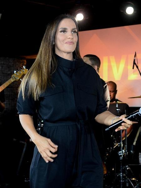 Ivete Sangalo participa de pocket show na sede da Google, em São Paulo - Francisco Cepeda/AgNews