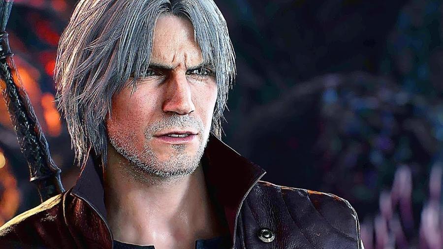 """Dante é um dos protagonistas da franquia """"Devil May Cry"""" - Reprodução"""