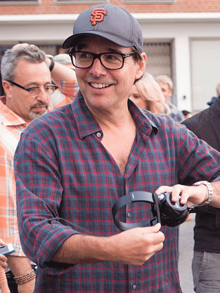 O diretor Chris Columbus - Reprodução