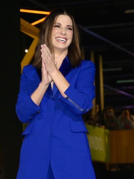 "Sandra Bullock participa de painel de ""Bird Box"" (Netflix) na CCXP 2018 - Manuela Scarpa/Brazil News"