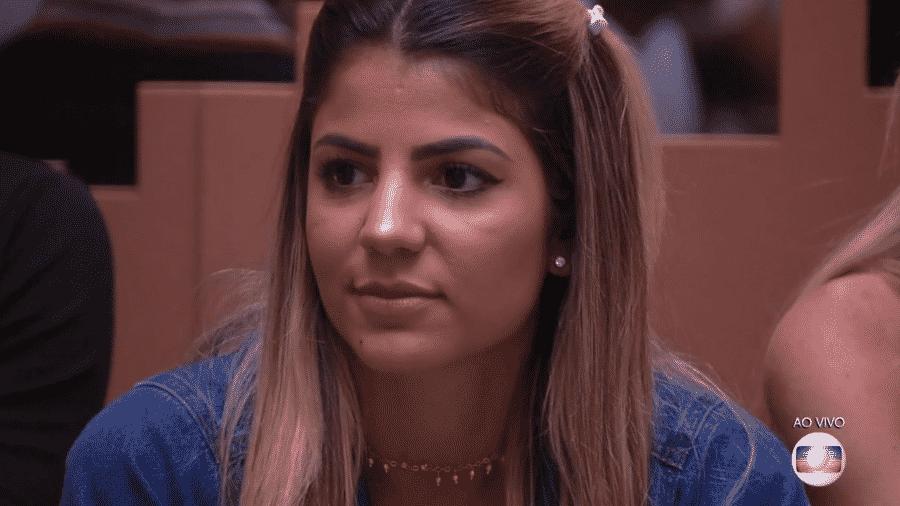 Hariany se chateia com Danrley durante jogo da discórdia - Reprodução/Globoplay