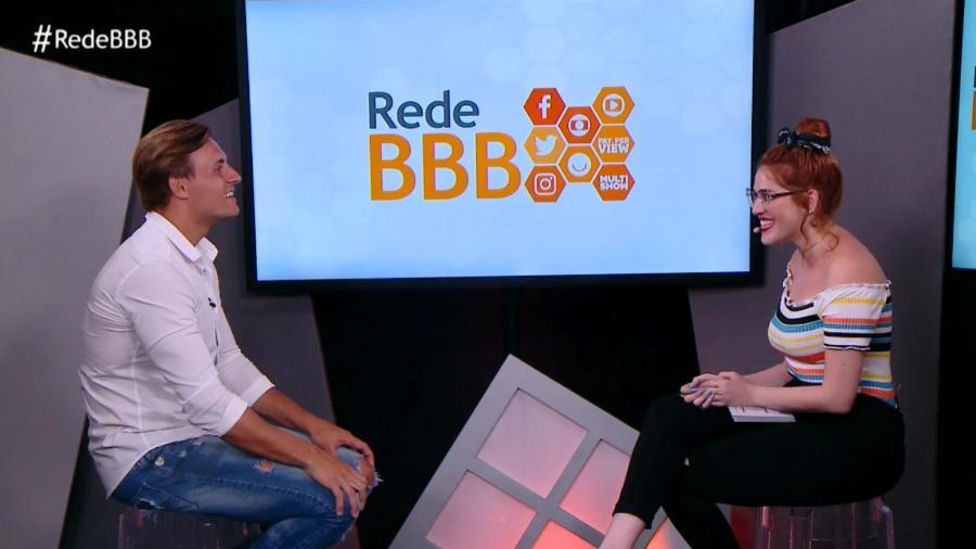Após sua eliminação, Diego conversa com Ana Clara - Reprodução/GloboPlay