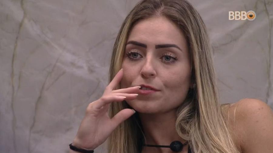 Paula fala sobre discussão entre Rízia e Leifert - Reprodução/Globoplay