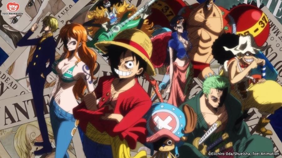 """Cena do anime """"One Piece"""", baseado em um dos mangás mais populares dos últimos 20 anos - Eichiro Oda/Shueisha, TOEI Animation"""