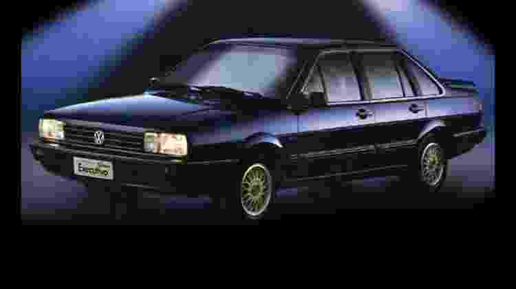 Santana Executivo era o que havia de mais requintado na linha VW - Divulgação