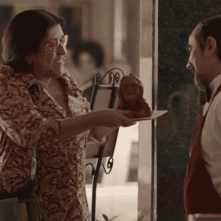 Cena da novela Amor de Mãe - Reprodução/TV Globo