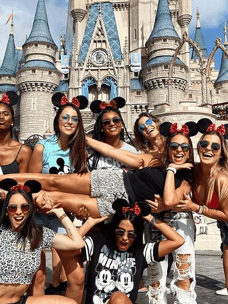 Depois de passar o ano na Berrini, um refresco na Disney - Reprodução/Instagram
