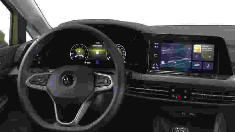 Volkswagen Golf 2020 virá com climatizador com comando de voz - Divulgação