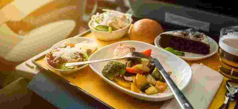 A nova moda no Canadá é pedir comida de avião em casa - Getty Images/iStockphoto