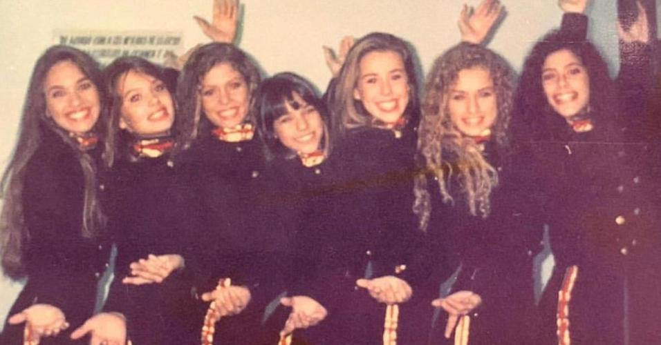 Bárbara Borges postou foto das Paquitas New Generation