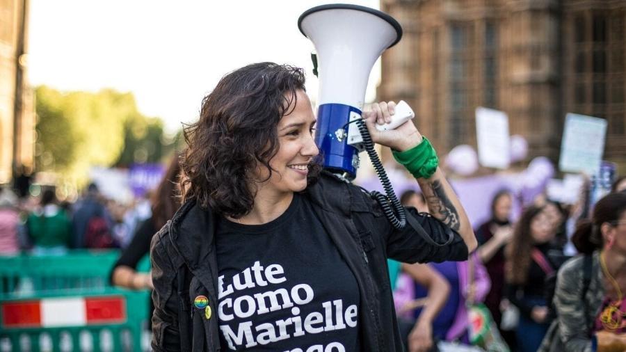 Monica Benicio é pré-candidata à vereadora do Rio - Camila Fontenele/Divulgação
