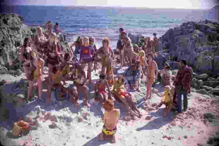 Movimento hippie foi responsável por celebrar a liberdade do corpo na moda - Getty Images - Getty Images
