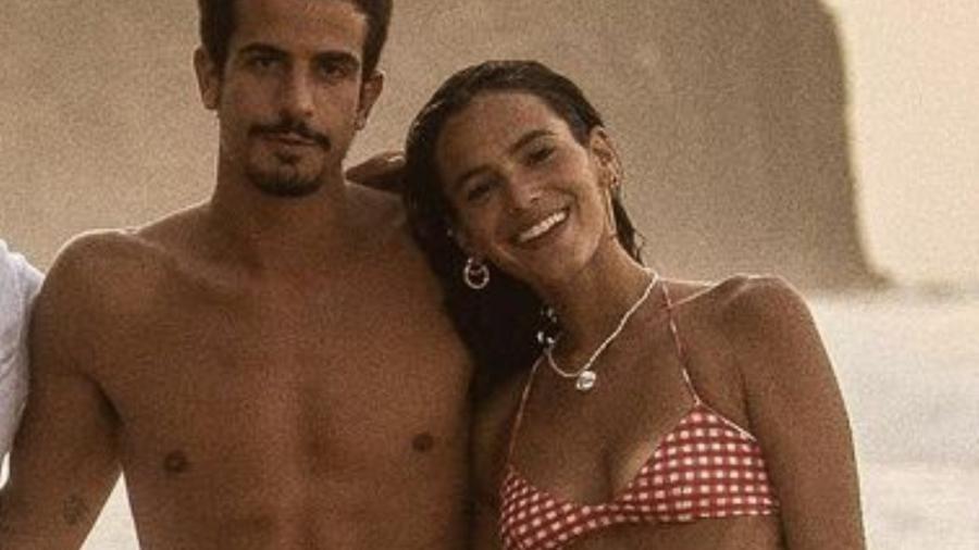 Bruna Marquezine e Enzo Celulari em Noronha - Imagem: Reprodução/Instagram@lucasvalandro