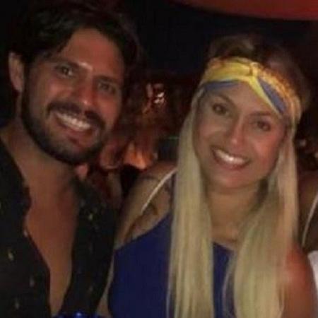 Frederico Perusin e Sarah Andrade - Reprodução/Instagram