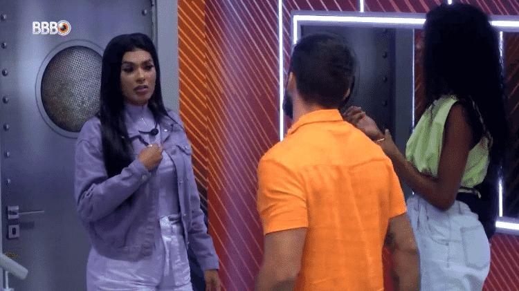 BBB 21: Pocah reclama de Juliette para Camilla e Arthur - Reprodução/Globoplay - Reprodução/Globoplay