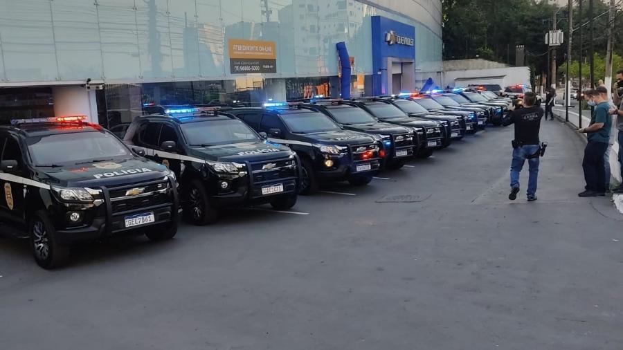 Viaturas trazem blindagem só em locais estratégicos para redução no custo e no peso; veículos serão usados contra crime organizado - Divulgação