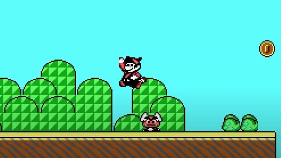 Versão de Mario foi feito no começo dos anos 1990 - Reprodução