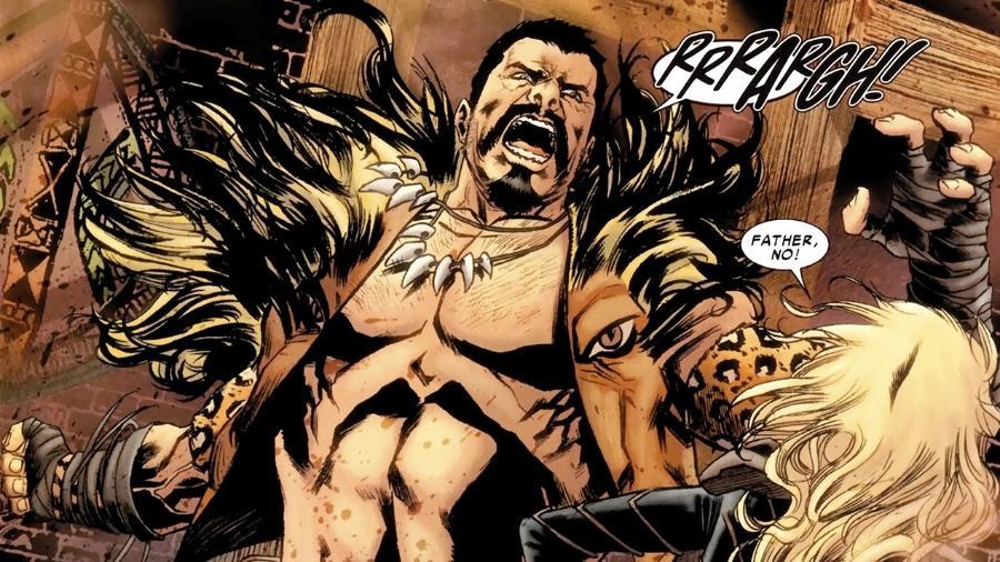 O vilão do Homem-Aranha, Kraven, O Caçador - Reprodução