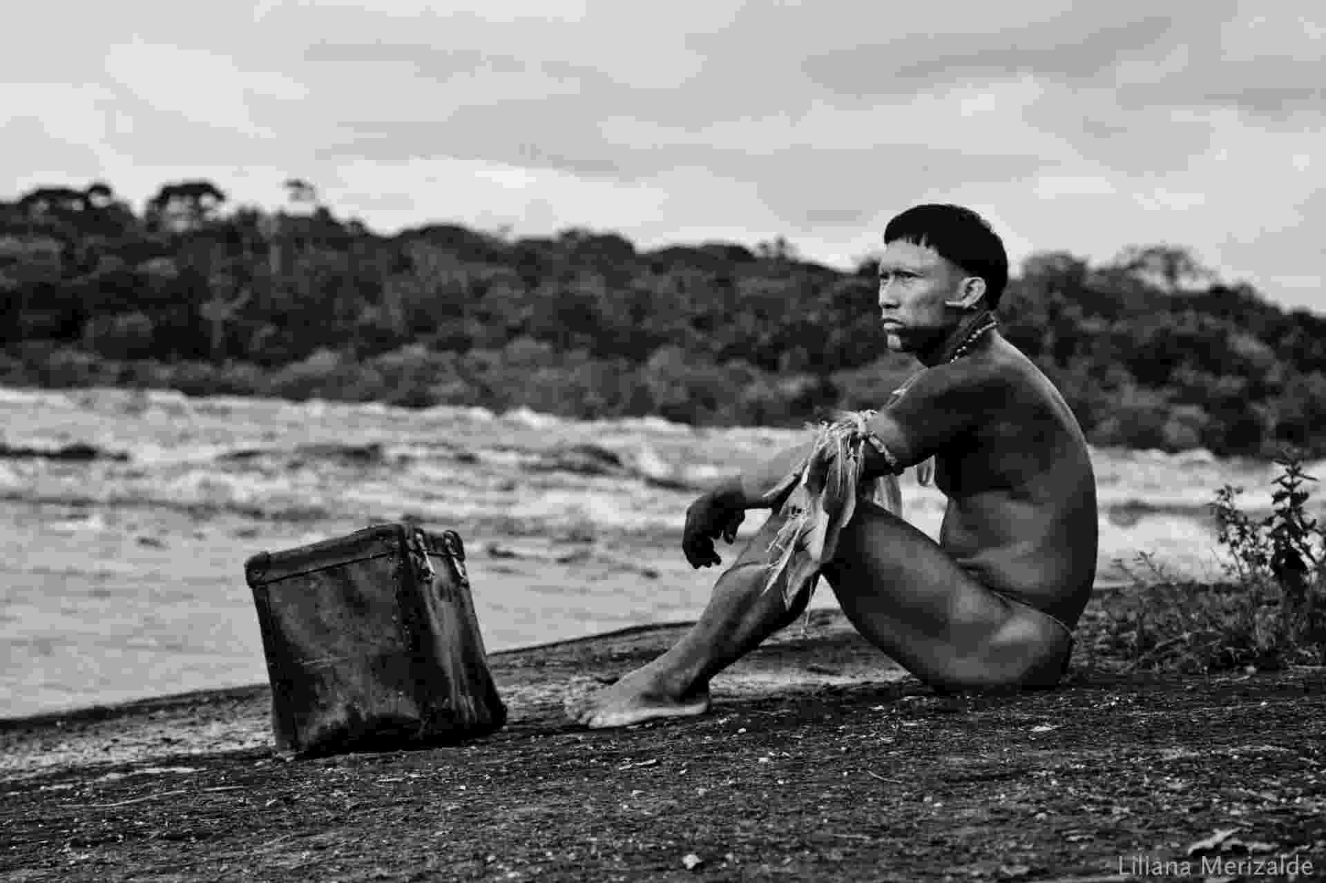 """Nilbio Torres em cena do filme colombiano """"O Abraço da Serpente"""", de Ciro Guerra - Divulgação"""