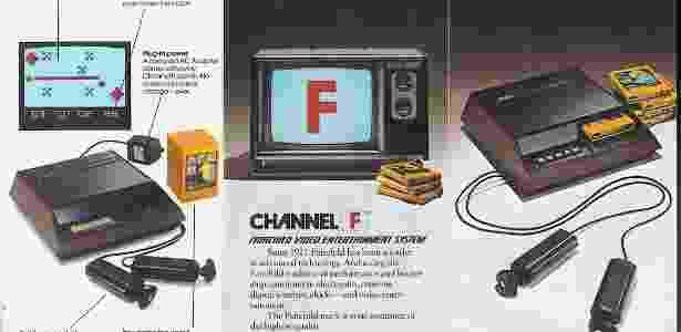 Lançado em 1976, o Fairchild Channel F inaugurou a segunda geração de consoles e trouxe inovações que mudaram a indústria de jogos - Divulgação
