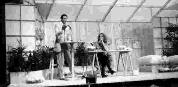 """Ney Gonçalves Dias e Marília Gabriela dividiam o comando do """"TV Mulher"""" nos anos 80 - Folhapress - Folhapress"""