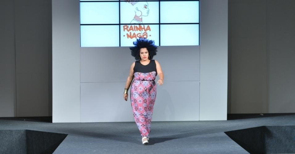 Fashion Weekend Plus Size verão 2017 - Rainha Nagô