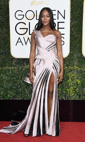 Globo de Ouro 2017: Naomi Campbell