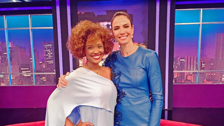 """Isabel Fillardis é convidada do """"Luciana By Night"""" - Divulgação/RedeTV!"""