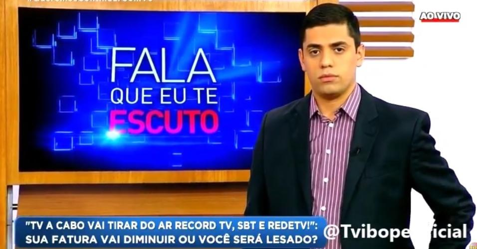 """Chora Que Eu Te Escuto: Telespectadora Discute Ao Vivo No """"Fala Que Eu Te Escuto"""