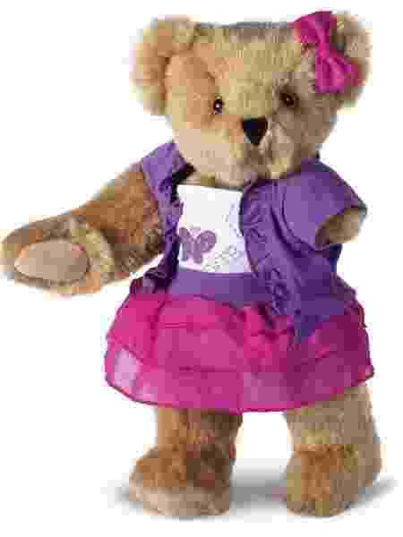 Ursinhos da Vermont Teddy Bear Company sem uma das patas são feitos sob medida - Divulgação/vermontteddybear.com