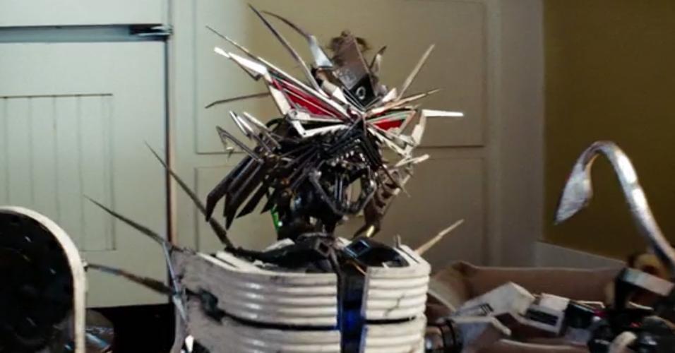 Cena de ?Transformers: A Vingança dos Derrotados? (2009), de Michael Bay