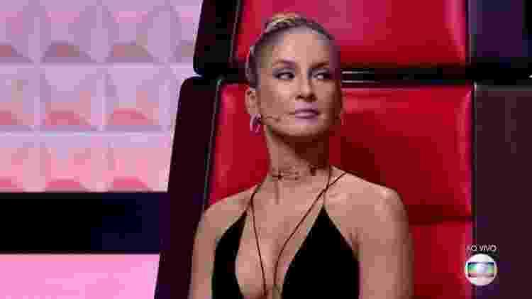 Claudia Leitte no The Voice Brasil - Reprodução/Globo - Reprodução/Globo