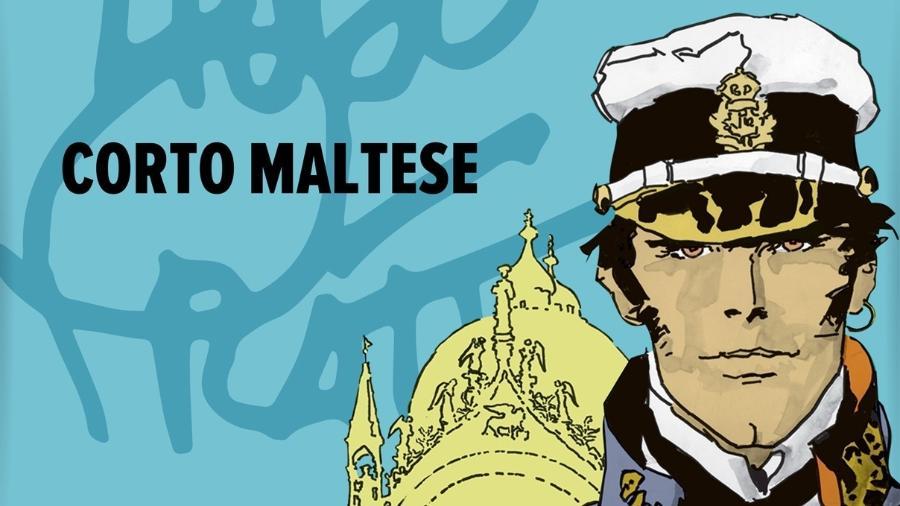 O personagem Corto Maltese, criação de Hugo Pratt - Divulgação