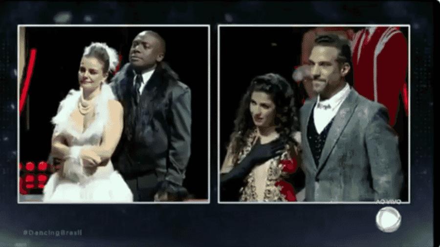 """Carlos Bonow é o quarto participante eliminado do """"Dancing Brasil"""", da Record - Reprodução/TV Record"""