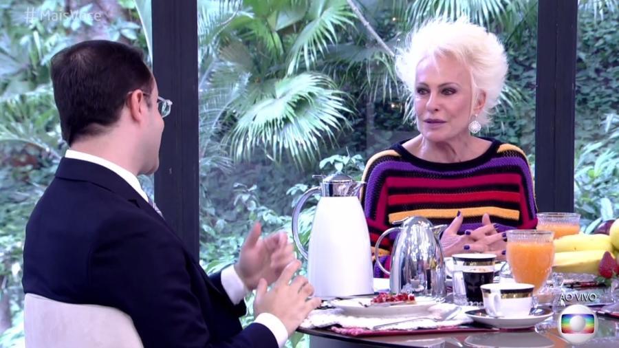 Ana Maria Braga reclama de exageros em regras de condomínio e diz como um simples problema a fez se livrar de uma casa  - Reprodução/TV Globo