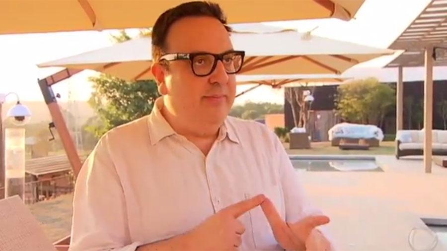 O diretor do núcleo de realities da Record, Rodrigo Carelli  - Reprodução/TV Record