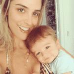 Rafa Brites com o filho, Rocco - Reprodução/Instagram