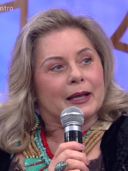 Vera Fischer participa do programa de Bial - Reprodução/Globo