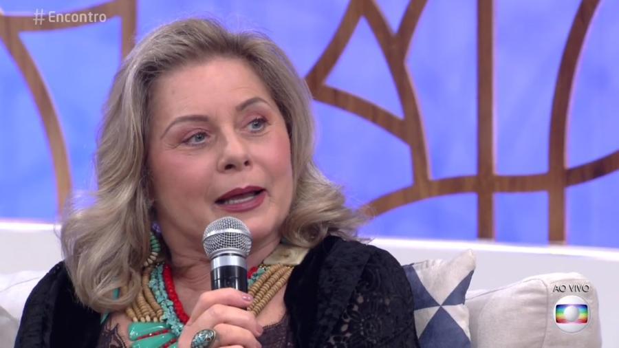 """Vera Fischer participa do """"Encontro"""" - Reprodução/Globo"""