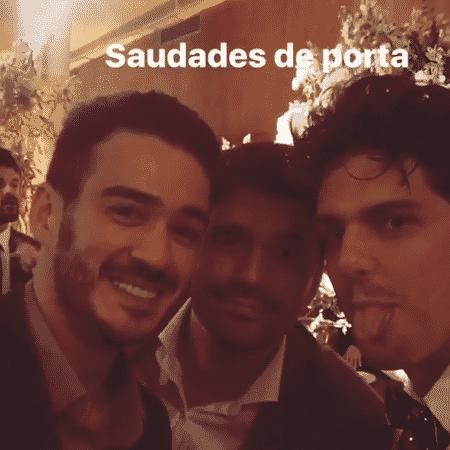 Marcos Veras, Ian SBF e Rafael Infante - Reprodução/Instagram/rafaelinfante