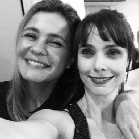 Adriana Esteves e Débora Falabella - Reprodução/Instagram