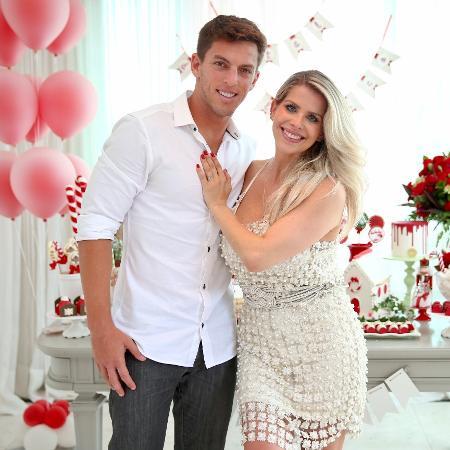 Amaury Nunes e Karina Bacchi - Manuela Scarpa/Brazil News